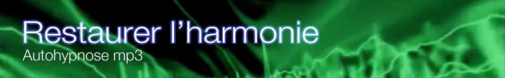 autohypnose mp3 harmonie